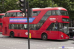 Wrightbus NRM NBFL - LTZ 1116 - LT116 - Pimlico 24 - Metroline - London 2017 - Steven Gray - IMG_0457