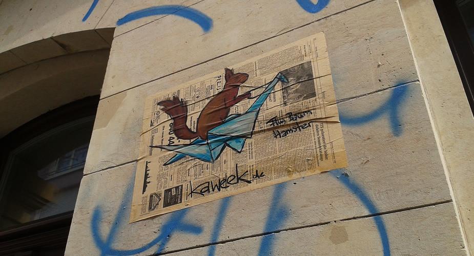 Street art in Dresden, bekijk de tips | Mooistestedentrips.nl