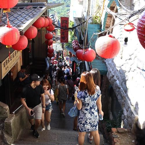 確かにちょっと、千と千尋っぽい感じはある。 #台湾 #九份