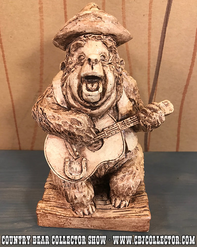 1972 Disney Randotti Country Bear Jamboree Big Al - Country Bear Collector Show #112