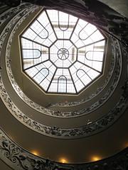 The Modern Bramante Staircase