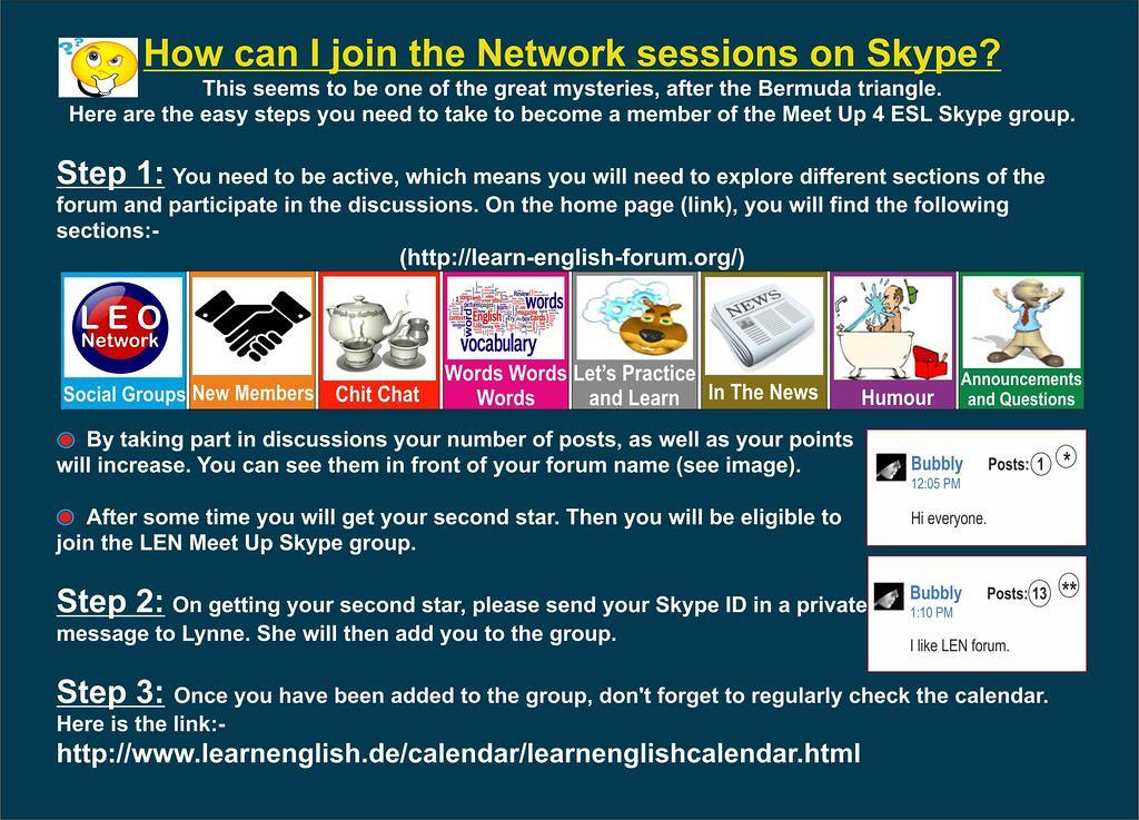 LEN Skype Instructions
