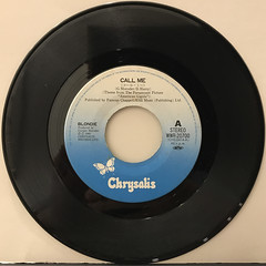 BLONDIE:CALL ME(RECORD SIDE-A)
