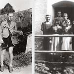 1946 Vinzenz Katzlinger als Postbote Burg Kr