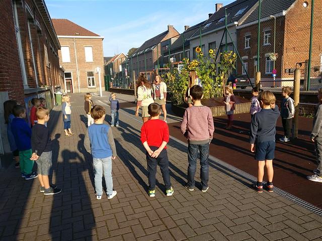 20 september - De scouts op school!