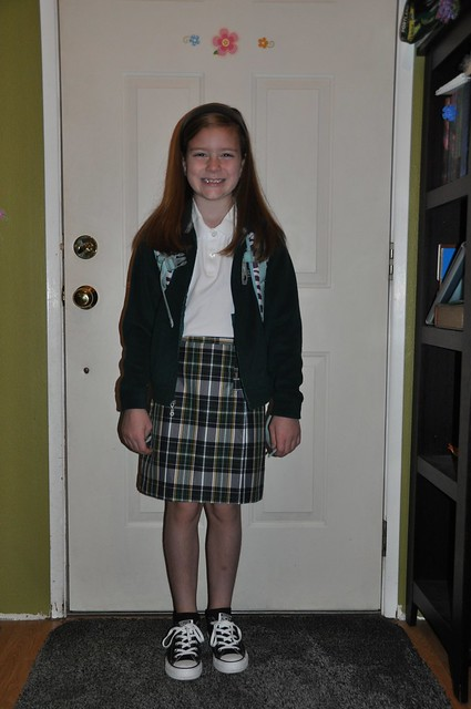 Ana First Day of 3rd Grade