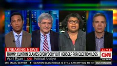 April Ryan Loses It Over Don Lemon Admitting Hillary Made Mistakes Costing Her the Election