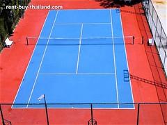 Paradise condo tennis court Pattaya