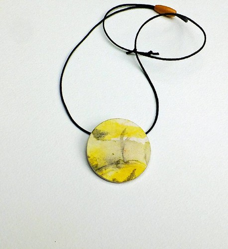 Summer Solstice Paper Necklace by Liz Hamman