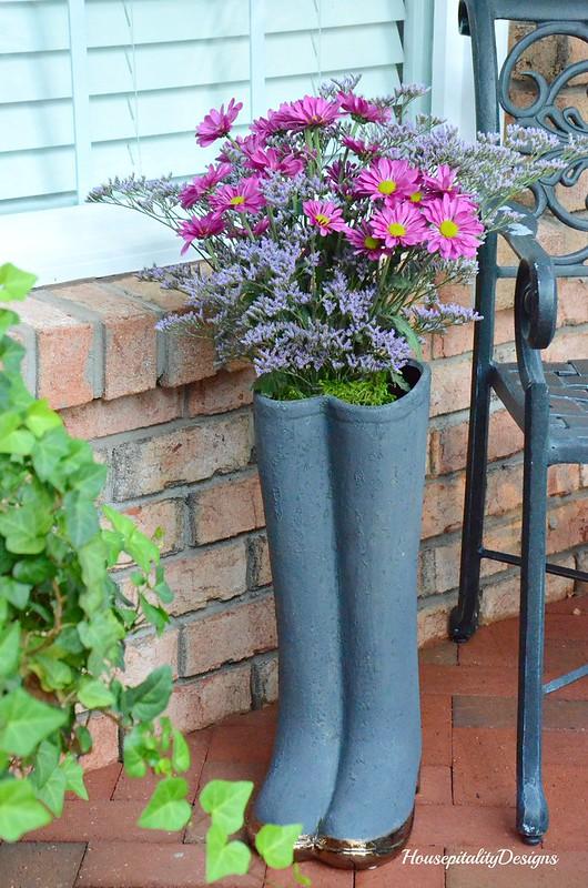 Boots Planter-Housepitality Designs