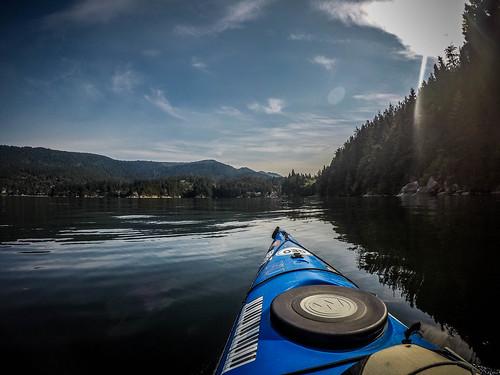 Kayaking Bellingham Bay-8