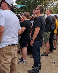 When Blake is standing beside you at That Dog...and you both wear Casios! #Fangirling #Jawbreaker #RiotFestTC  @bclark_design