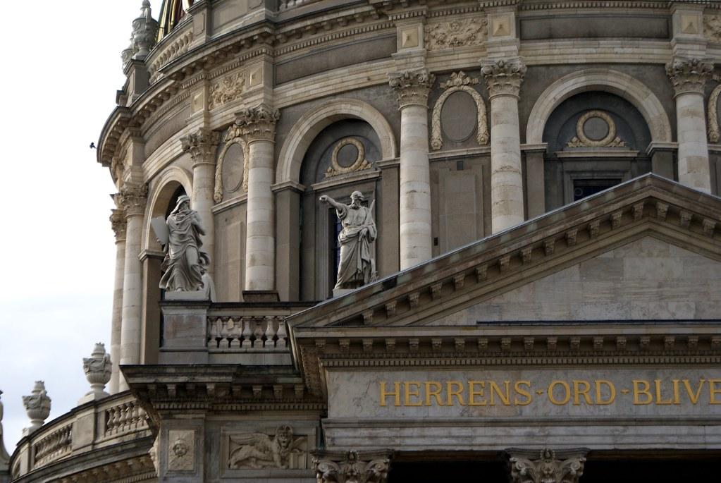 """""""Eglise de marbre"""" ou Frederiks Kirke à Copenhague"""