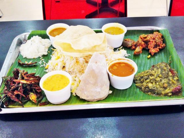 Economic Rice (Indian) / Thali, North Indian