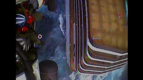 Coast Guard medevacs man 40 miles east of Morehead City, NC