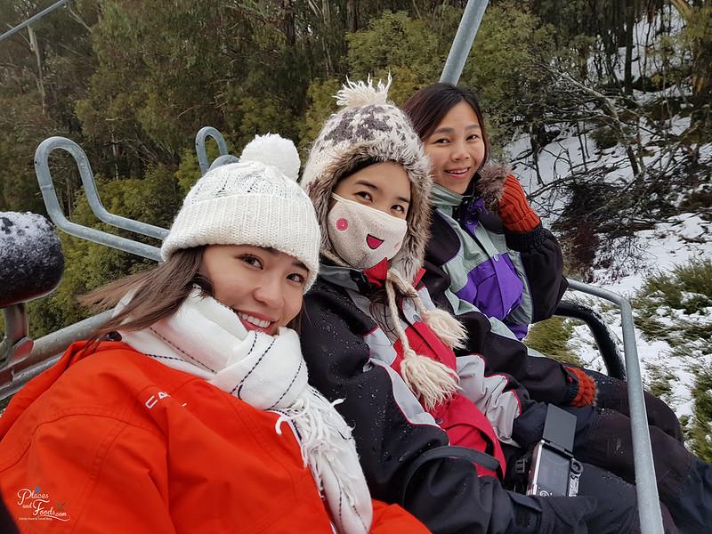 mount buller ski lift