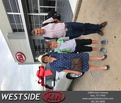 Congratulations Natalie on your #Kia #Soul from Ray Jardiolin at Westside Kia!