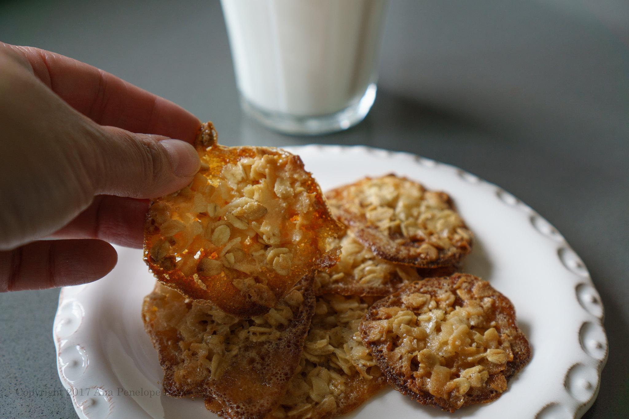 Coconut Oat Drop Cookies