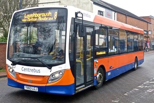 YX63 LGJ 'Centrebus' No. 505 Alexander Dennis Ltd. Enviro 200 on 'Dennis Basford's railsroadsrunways.blogspot.co.uk