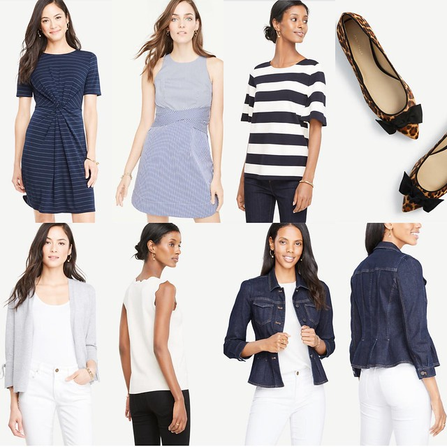 Ann Taylor New Arrivals featured on www.whatjesswore.com