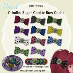 Bleat - Cthulhu Sugar Cookie Bow gacha