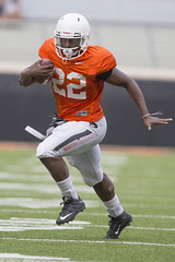Oklahoma State Cowboy Football Scrimmage, Friday, August 18, 2017, Boone Pickens Stadium, Stillwater, OK. Bruce Waterfield/OSU Athletics