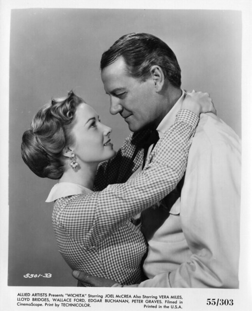 Wichita - Promo Photo 2 - Joel McCrea & Vera Miles