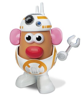 Mr. Potato Head 星際大戰系列【蛋頭先生 × BB-8】BB-T8R™ Container 芮妳在哪裡?!