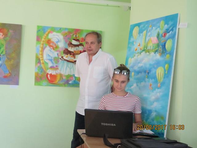 20 sierpnia 2017 Uroczyste otwarcie Roku Rzeki Wisła w Bibliotece Tarasa Szewczenko w Sumach