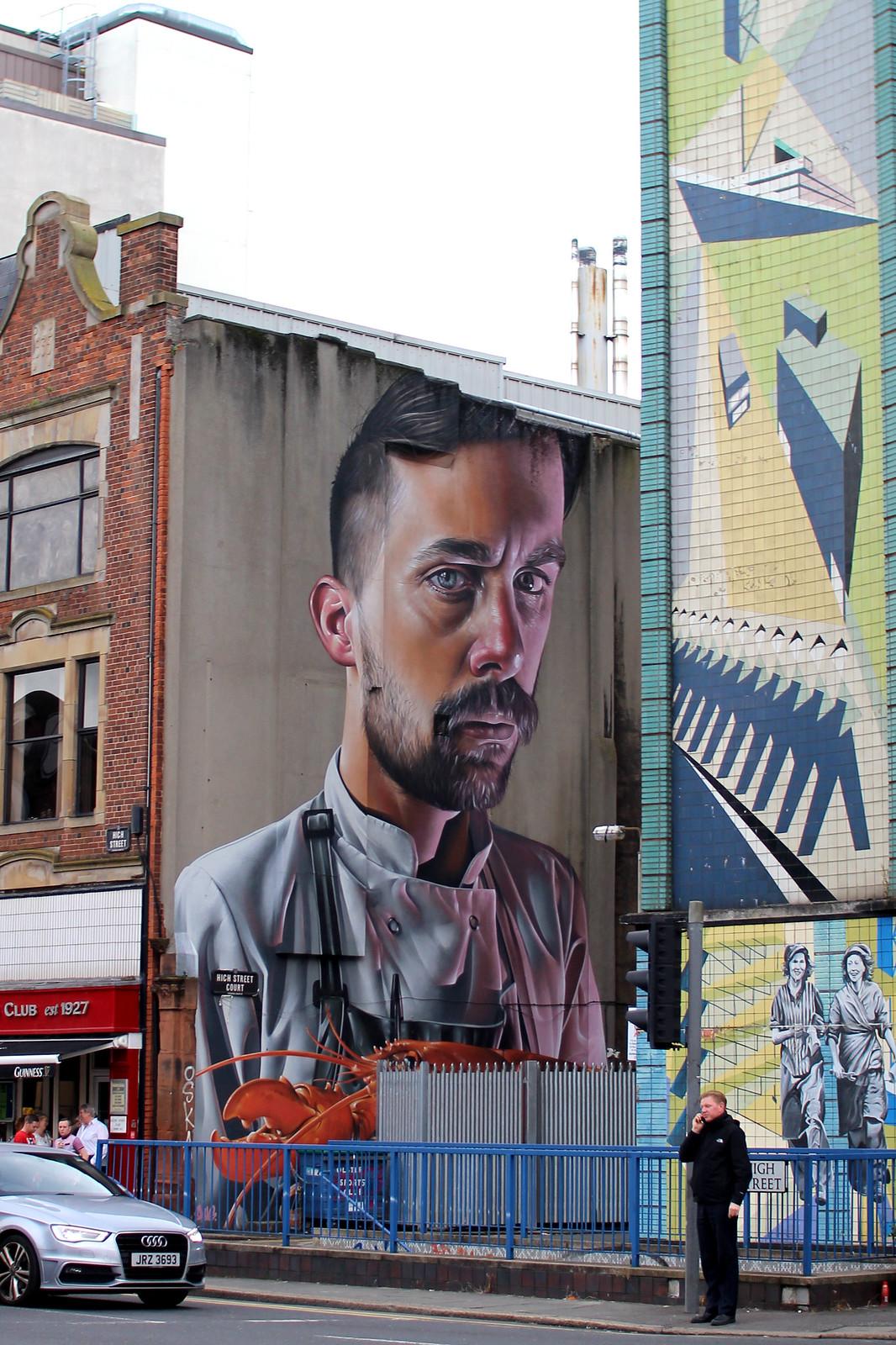 Street art murals Belfast 48 hour guide travel blogger UK Northern Ireland