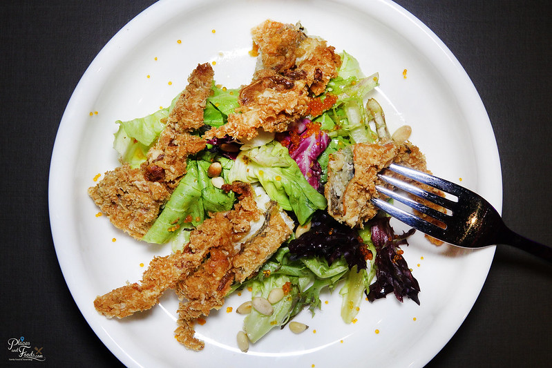 tgv indulge soft shell crab salad
