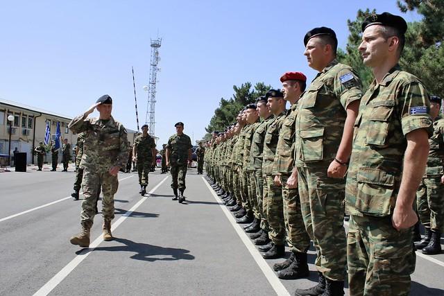 Greek Change of Command