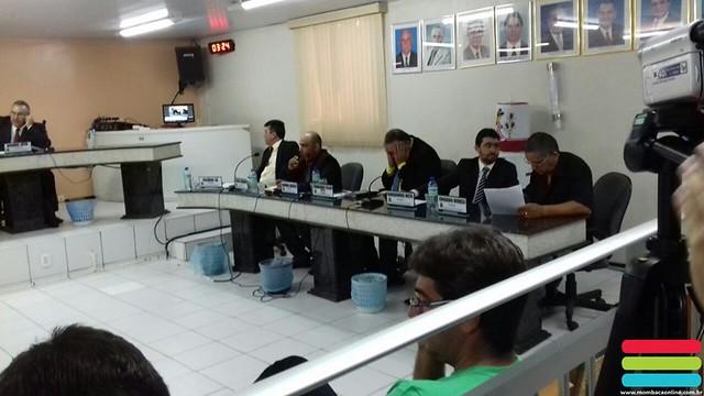 Sessão na Câmara unicipal de Mombaça (31/08/17)