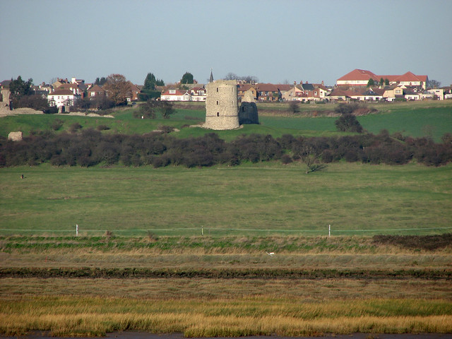 Hadleigh Castle from Canvey Island