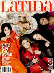 Latina Magazine Cover, November 2015, Fifth Harmony