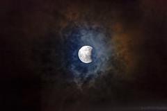 22h22 - Eclipse partielle de la lune le 07 ao�t 2017