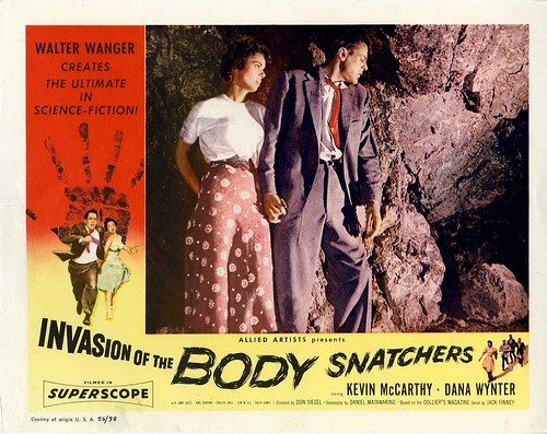 Invasion of the Body Snatchers - 1956 - lobbycard 1