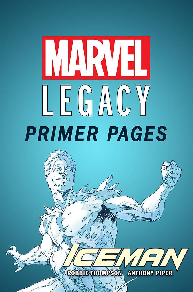 Marvel Legacy Primeras Paginas