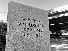 Worlds Fair Marker; Queens, New York