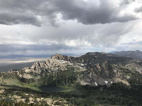 ruby mountains rubymountains nevada weather nevadaweather favrelake lakes canyons thunderstorms storms