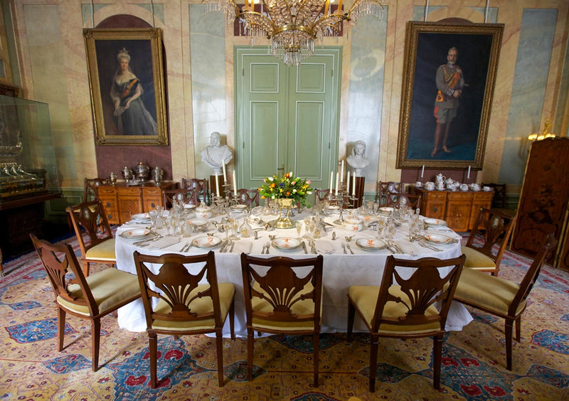 Dining Room, Doorn House. Credit Sebastiaan ter Burg