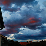 clowdy sunset