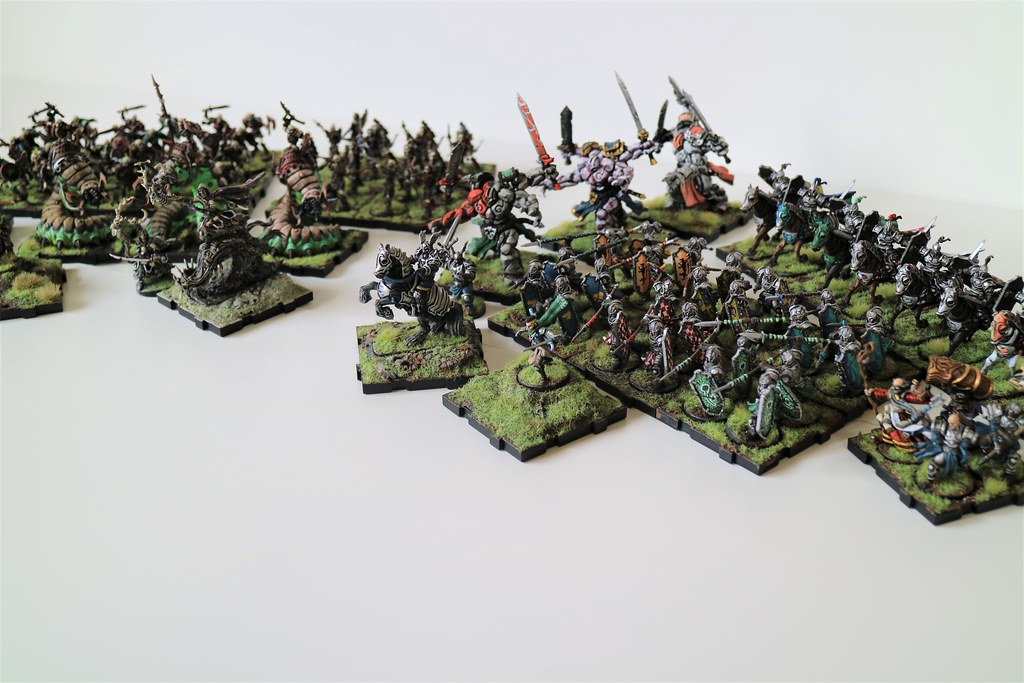 Runewars Miniatures Current Army Side