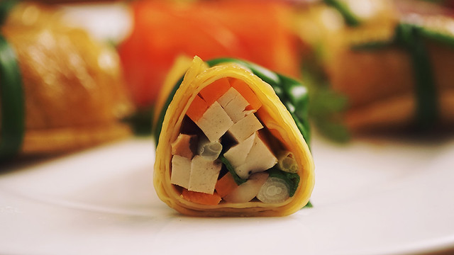 Vegetarian Skin Tofu Roll – A dish for summer