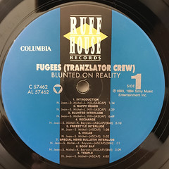 FUGEES:BLUNTED ON REALITY(LABEL SIDE-A)