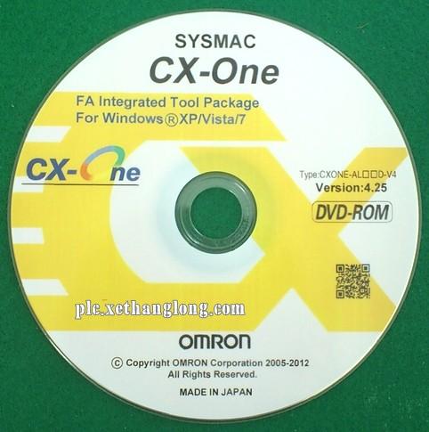 Phần mềm lập trình Omron CX-ONE