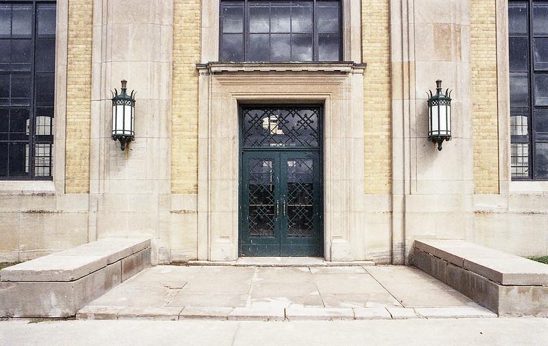 Doorway with Lamps_