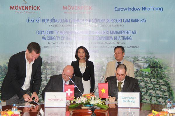 Eurowindow Nha Trang – Hợp đồng quản lý Khu nghỉ dưỡng Mövenpick Vịnh Cam Ranh