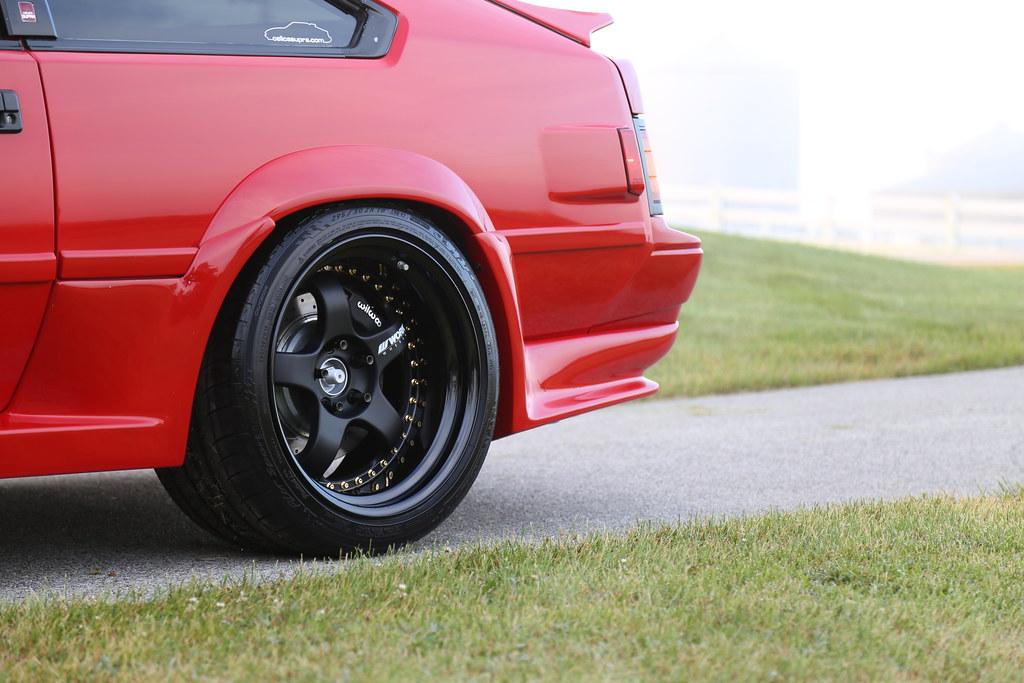 WORK Meister – Toyota MK2 Supra Mike O'Brien – RavSpec, Inc