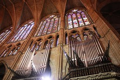 Tubería del órgano de la Catedral